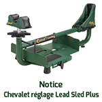 chevalet reglage lead sled plus